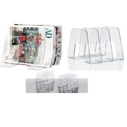 Separator pentru cataloage, reviste , corespondenta, HAN Sorter - transparent cristal