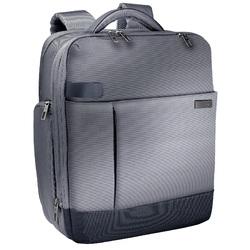 Rucsac LEITZ Complete Smart Traveller, pentru laptop de 15.6 inch, gri-argintiu