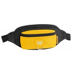 Borseta CATERPILLAR Millennial Classic - Raymond, material 600D HD polyester - negru cu galben