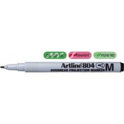 OHP Non-Permanent marker ARTLINE 804, varf mediu - 1.0mm - negru