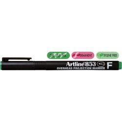 OHP Permanent marker ARTLINE 853, varf fin - 0.5mm - verde
